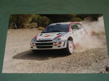"FORD FOCUS WRC. Martini. McRae/Grist ACROPOLIS 1999 12x8"" photo (B)"